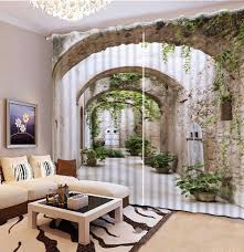 compare prices on modern scenery curtains online shopping buy low