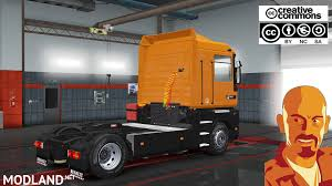 renault orange renault ae magnum 1 28 x mod for ets 2