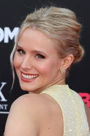 up style for 2016 hair kristen bell s hairstyles over the years