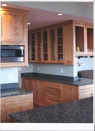 birch kitchen cabinets custom made contemporary red birch kitchen