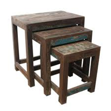 reclaimed wood nesting tables u2013 anikkhan me