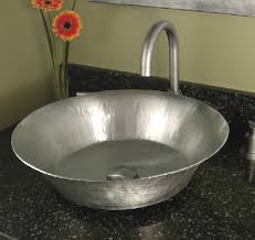hammered nickel bathroom sink 5 bathroom trends for 2010 granite transformations blog