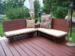 Patio Furniture Pallets by How To Make Patio Furniture Made Out Of Pallets Home And Garden