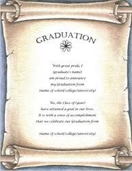 graduation announcements templates free graduation invitation templates cloveranddot