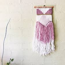 hanging home decor weaving woven wall hanging bohemian home decor nursery wall