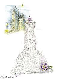 best wedding dress sketch images on pinterest wedding dress