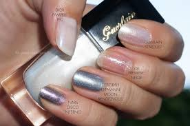 guerlain stardust 862 nail lacquer spring 2014 the beauty
