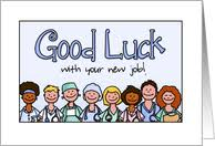 Congratulations Nurse Card Good Luck With Your New Job Cards From Greeting Card Universe