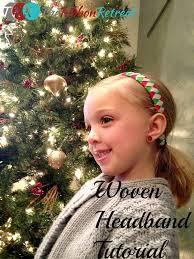 ribbon woven headband tutorial the ribbon retreat blog