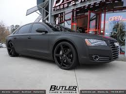 audi s8 matte black matte black audi a8 with 22in xo miami wheels additional p flickr