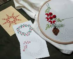 embroidered christmas a wee bit of christmas embroidery accomplished needlenthread