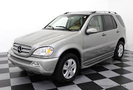 mercedes suv used 2005 used mercedes m class ml500 v8 awd special edition at