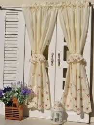 French Style Kitchen Curtains by Contemporary Style For Kitchen Drapers