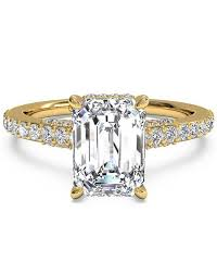 gold diamond engagement rings gold engagement rings