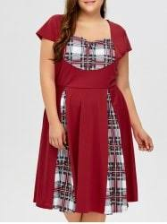 plus size skater dresses for women cheap plus size fit and
