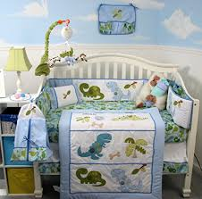 Nursery Bed Set Soho Dinosaur Baby Crib Nursery Bedding Set 14 Pcs
