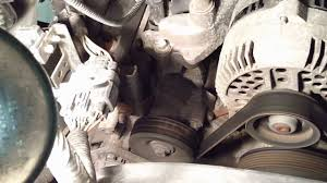 ford 4 6l u0026 5 4l power steering whine type noise youtube