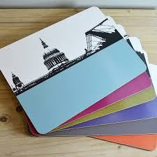 table mats and coasters new london table mats set by the art rooms notonthehighstreet com