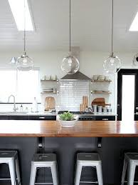hanging kitchen lights island stylish glass pendant kitchen lights clear throughout for island