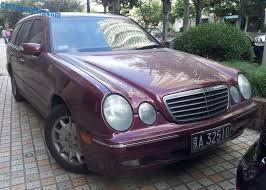 mercedes w210 spotted in china w210 mercedes e320 wagon carnewschina com