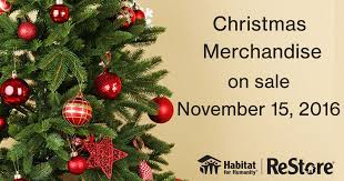 Natural Christmas Tree For Sale - christmas decor sale at the restore habitat for humanity