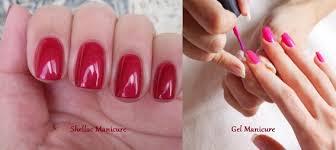 shellac nails vs gel nails cute nails for women