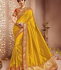 Buy Violet Embroidered Art Silk Art Silk Sarees Online Buy Art Silk Sarees Online Silk Art