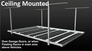 Ceiling Mount Storage by Garage Overhead Ceiling Racks Overhead Storage Racks Fort Worth