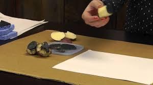 potato prints u0026 more diy block prints youtube
