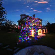 Holiday Light Projector Christmas Lights by Kaleidoscope Projector Rotating Led Light Waterproof Spotlight