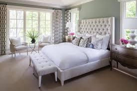 Tufted Bed Queen Mirrored Tufted Headboard As A Component In The Bedroom U2013 Home