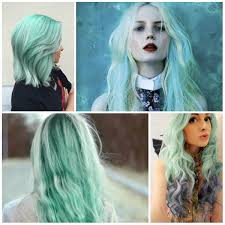 Trendy Colors 2017 Stunning Mint Green Hair Colors For 2017 U2013 Best Hair Color Ideas