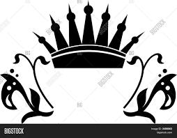 crown graphic flourish ornaments vector photo bigstock
