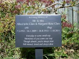 memorial plaques memorial plaque with a wooden stand jpg 592 444 remembering