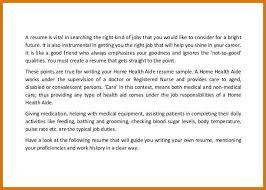 Home Health Aide Job Duties For Resume Dietary Aide Sample Resume Dietary Aide Cover Letter And Resume