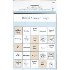 bridal shower gift bingo bridal shower bingo home garden ebay
