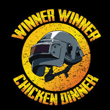 pubg logo winner winner chicken dinner helmet the legendary pubg helmet to
