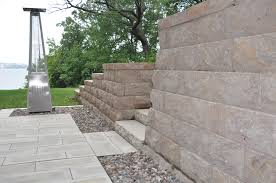Unilock Retaining Wall Retaining Walls Seat Walls Outcropping Greenscapes Madison Wi
