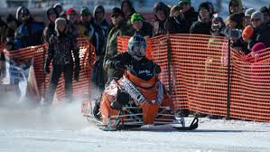 illinois man reaches 168 421 mph on snowmobile at nssr race