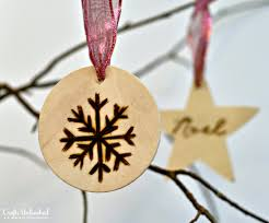 ornaments wood burned ornament tutorial