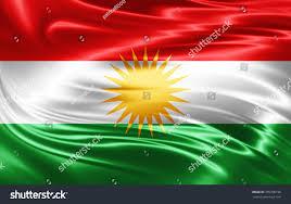 Kurdish Flag Kurdistan Flag Silk Stock Illustration 355708196 Shutterstock