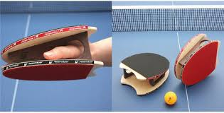 table tennis and ping pong brodmann blades turns the ping pong paddle into a glove