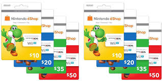 nintendo gift card score a 15 discount on nintendo e shop gift cards starting