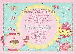 first birthday tea party invitation wording wedding invitation