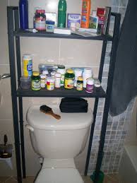 Bathroom Shelving Ikea A Traditional Bathroom With Stained Solid Wood Pieces Lerberg