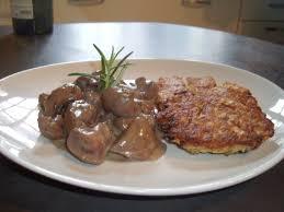 cuisiner des rognons rognons de veau et galettes de manioc mes tests culinaires la