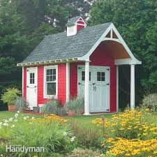 How To Make A Simple Storage Shed by How To Build A Shed On The Cheap U2014 The Family Handyman