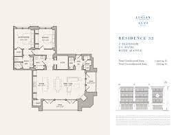 Walton House Floor Plan The Lucian Floor Plans 33 South Walton Luxury Homes