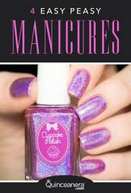 four easy peasy manicures