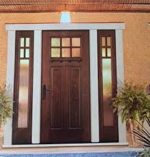 front doors with side lights 8ft craftsman 6 lite knotty alder front entry door with 2